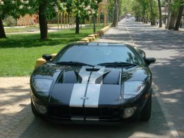 Ford GT frontview by Mate397