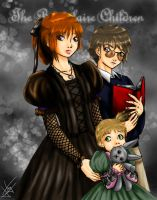 .::The Unfortunate Siblings::. by rei-chan