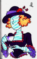Mummy Having Tea by Candy-Marie
