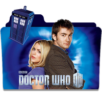 Doctor Who - Folder Icon by VictorPereira97