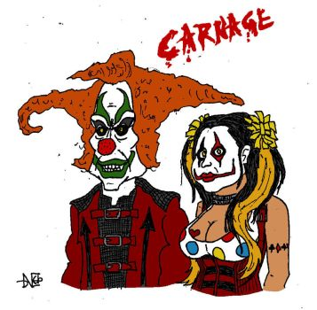 Jack The Clown And Chance (HHN Carnage) Colors by Blackaddergoesforth