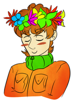 Flower crowns are cool by Mishamutt