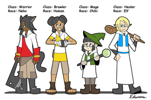 4-Player Classes by ObsidianWolf7