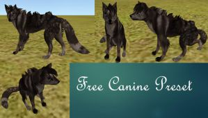 Free Wolf Preset by FabouCaribou