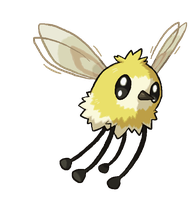 CUTIEFLY NEW POKEMON SUN AND MOON by Tzblacktd