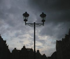 Lamp post by Finsternis-stock