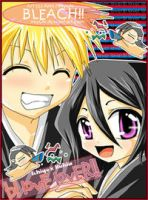 BLEACH:Love-Lover IchigoxRukia by miychi