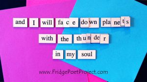 The Daily Magnet #282 by FridgePoetProject