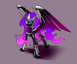 Megamare X - Nightmare Moon by Underpable