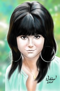Linda Ronstadt, Digital Paint by eumartleon
