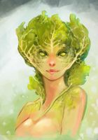 girl cabbage by Uruno-Morlith