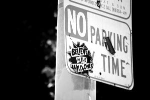 No Parking by faux-tograph-ie