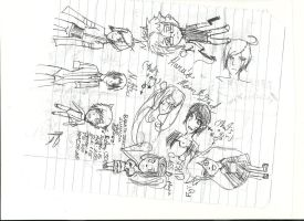 Baka and Test Oc's and Others 2 by nakanakaponchan
