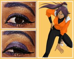 Eye Designs: Yoruichi Shihoin by MakeupSiren