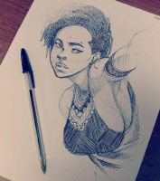 Work Doodle by Blasian89