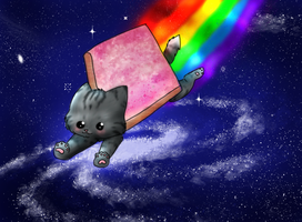 Nyan by Speckledpath