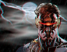 Cyclops Anaglyph by Geosammy