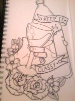 Keep it Classy by CraftyTibbles