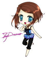 Chibi JoyDreamer by JoyDreamerART