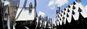 Hogsmeade Village by arivanna