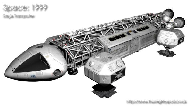 Space 1999 - Eagle Transporter by TheMightySpud