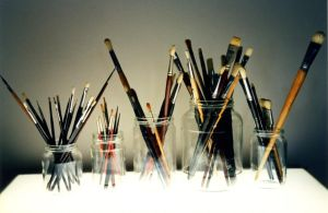 My old brushes by Kitsch1984