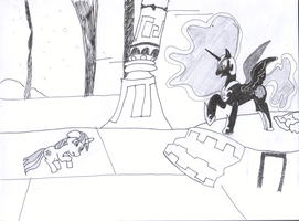 Day 7 - The Night Shall Last Forever! by littlecolt