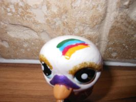 White swan lps custom (head view) by megatiger42