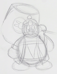 King Dedede Doodle by PuccaFanGirl