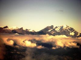 Mountains In Switzerland by aobaob