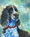 English Springer Spaniel by blondbug