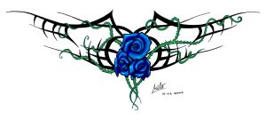 Intertwined thorns by Milo-Wildcat