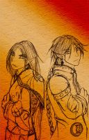 Sister Brother by Fura-Falevan