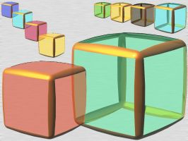 SummerGlass iCanD Cube IconOSX by taketo