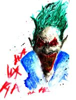 The Joker Painting (Watercolour) by LDM92