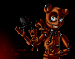Nightmare Freddy (Five Nights at Freddy's 4) by ArtyJoyful
