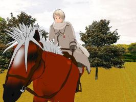 Russia Riding a Horse Test x33333 ~Video~ by BabyWaluigi