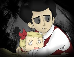 Protect her! (Don't Starve) by Tomato-the-Capricorn
