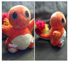 Charmander plush by LRK-Creations