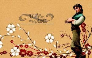 Flynn Rider Wallpaper by HeartlessMia