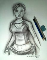 Lara Croft (before reborn) by emmanuel7