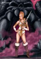TEELA | MASTERS OF THE UNIVERSE. by Irene-Rodriguez