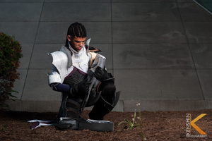 Lucian The Purifier Cosplay: Remembrance by Winged-Mouz