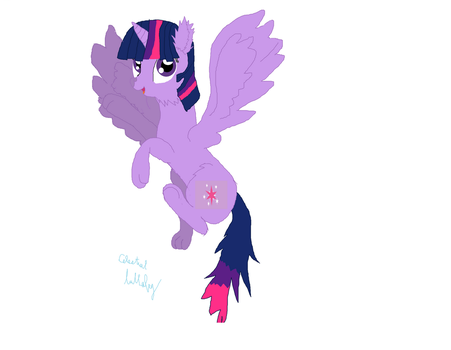 wolf Twilight Sparkle by CelestialLullaby29
