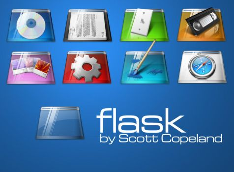 Flask PNGs by apathae