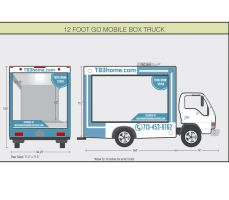 Go box glass Truck by pgrafis