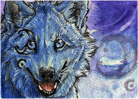 .: Blue Hope :. by WhiteSpiritWolf