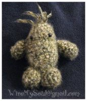 Amigurumi Monster Single Flame by WireMySoul