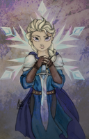 Fire and the Snow Queen Cover by PazGranger