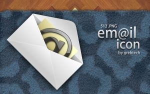 email dock icon by grebtech